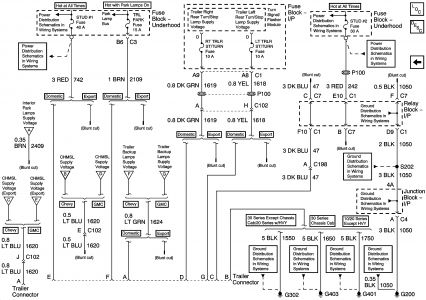 chevy silverado wiring diagram schematic. chevrolet. automotive, Wiring diagram