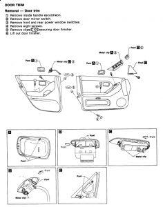 1994 Infiniti I30 Window Regulater: How to Remove Door Panel?