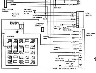 1993 Chevy S10 Stereo Wiring Diagram