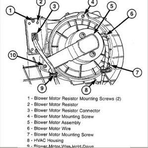 2003 Dodge Van Blower Motor Resistor: I'm Wondering Where
