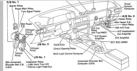 1991 Toyota Camry Electrical Problem: When I'm Stopped at
