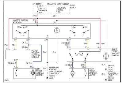 Toyota Power Window Switch Wiring Diagram Toyota Wiring Diagrams