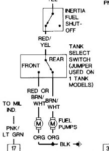 1992 Ford F-150 No Power to Fuel Pump