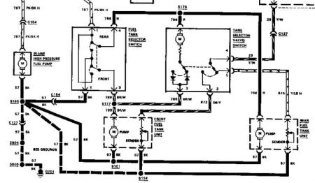1989 Ford F 250 Fuel System Wiring Diagram, 1989, Get Free