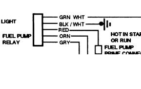 1993 Chevy Truck Fuel Supply Wiring: Electrical Problem