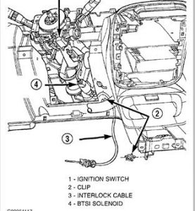 Service manual [How To Change Shift Interlock Solenoid