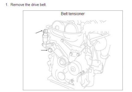 2006 Toyota Corolla Replace Belt Tensioner: How Do You