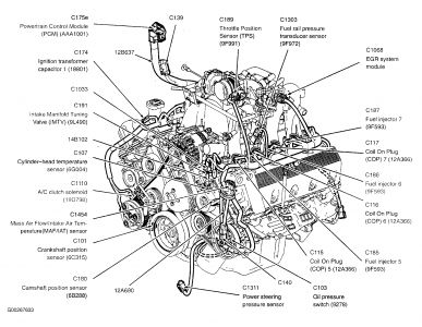 Coolant Temperature Sensor Diagram For A 2003 Ford 4 6 V8