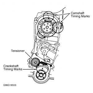 1991 Ford Festiva Timing Belt, Diagram?: Engine Mechanical