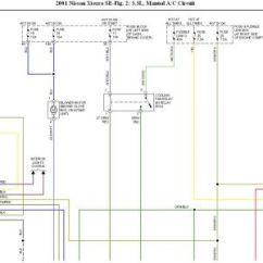 2004 Nissan Frontier Radio Wiring Diagram Advance Sign Ballast 2001 Xterra A C Pressure Switch Not Work 15 Replies