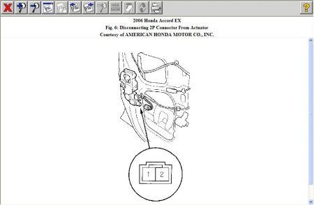 2006 Honda Accord Door Locks: I Push the Button to Lock My