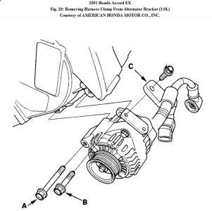 2001 Honda Accord Alternator: Electrical Problem 2001