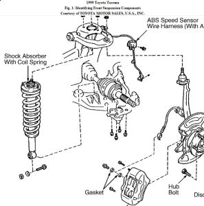 2009 Toyota Tacoma Engine Diagram 1997 Toyota Tacoma