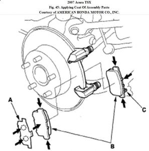 2007 Acura TSX Emergency Brake Tension: When I Go to