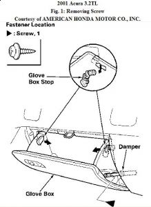 Service manual [How To Remove Glovebox On A 2007 Acura Rl
