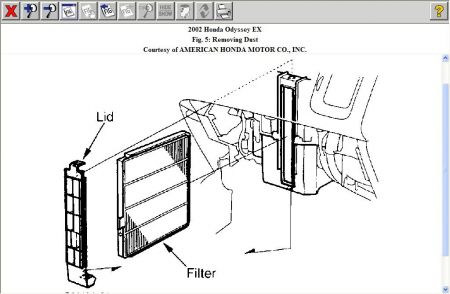 2002 Honda Civic Air Filter Box. Honda. Wiring Diagram Images
