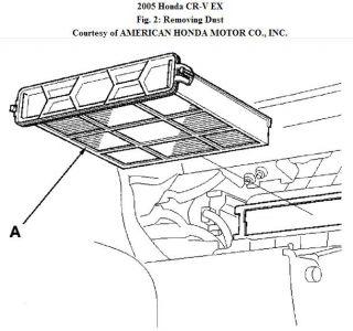 2007 Honda CRV Air Cabin Filter: How Do I Locate My Air