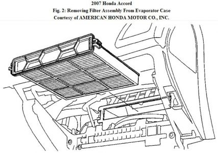 2007 Honda Accord Cabin Air Filter: Where Would I Find the