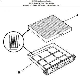 2007 Honda Odyssey Cabin Air Filter Installation: It Is