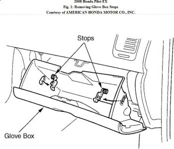 Service manual [How To Remove Glove Box In A 2001 Isuzu