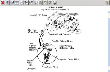 1990 Honda Civic Ex Wiring Diagram 1990 Honda Civic Fuse