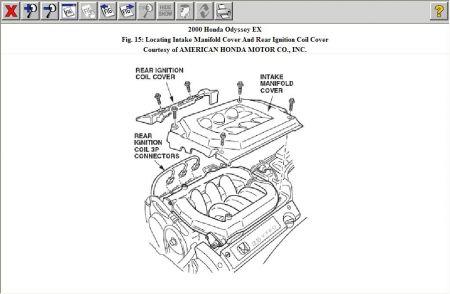 2000 Honda odyssey egr problems