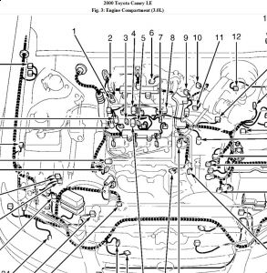 95 Toyota camry engine diagram