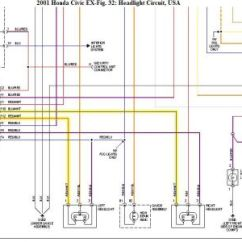 1995 Honda Civic Wiring Diagram Draw Tite Brake Controller O1 And Schematics 2001 Light Both Head Lites Are Not Working Replaced Rh 2carpros Com 01