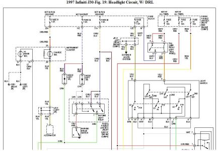 1997 Infiniti J30 Fuse Box Diagram. Infiniti. Auto Parts