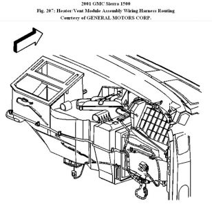 2001 GMC Sierra Heater Core: Heater Problem 2001 GMC