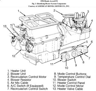 2002 Honda Accord Heater Hose Diagram, 2002, Free Engine