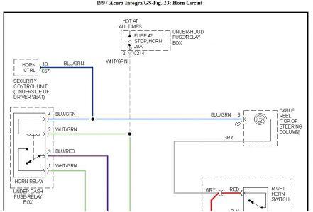 i'm yahica acura integra horn wiring diagram
