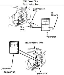 1985 Honda Civic Ignition Module: Is Therre a Way to Test