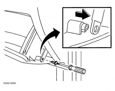 Glove Box Tension Device: 6 Cyl Front Wheel Drive