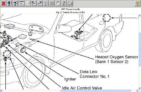1997 Toyota Corolla O2 Oxygen Sensor: How Many O2 Oxygen