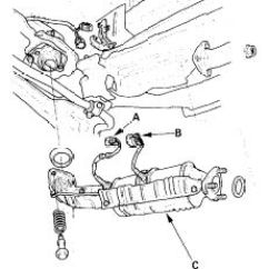 2003 Honda Crv Ac Wiring Diagram For Race Car Kill Switch 02 Sensor Location And Replacement I Am Trying To Find The Least Http Www 2carpros Com Forum Automotive Pictures 192750 O2sensorhonda 1