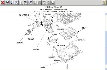 2002 Honda Odyssey Oil Pan: How to Change Oil Pan , Honda