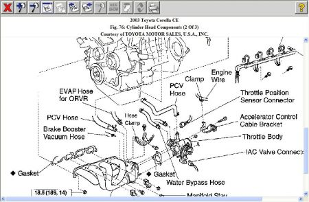 2003 toyota corolla engine diagram john deere lawn tractor lt155 wiring pcv valve i can t have the were is it http www 2carpros com forum automotive pictures 192750 pcv03corolla02 1