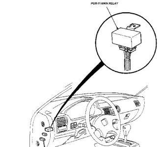 1993 Honda Accord Starts but Shuts Off: Hi, When I Start
