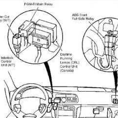1990 Honda Accord Alternator Wiring Diagram 2000 Celica Radio 1997 Wont Start When Warm: Engine Performance Problem...