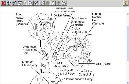 2000 Honda prelude starter problems
