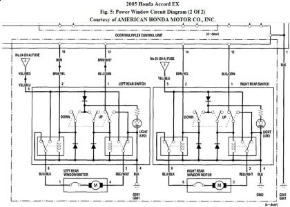 1991 honda accord wiring diagram socialism and capitalism venn power windows not working electrical problem 4 cyl two wheel http www 2carpros com forum automotive pictures 192750 pwcircuit05accord02b 1