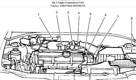 2001 Hyundai Accent Fuel Tank Not Venting: Smells Problem