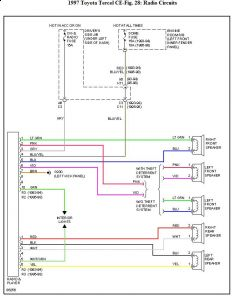 1998 toyota corolla stereo wiring diagram how to do a 98 electrical | get free image about