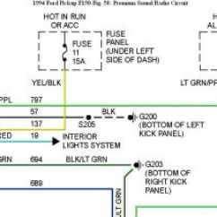 2007 Ford Focus Car Stereo Wiring Diagram For 5 Pin Relay 2001 F150 Radio Blog Data