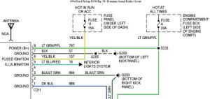 Stereo Wiring: Six Cylinder Two Wheel Drive Automatic My Deck Has