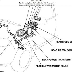 Service manual [2003 Acura Mdx Remove Hvac Controls