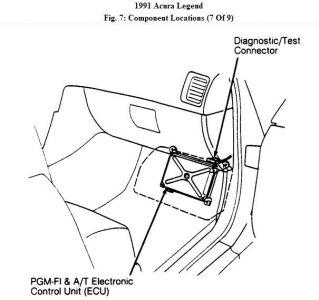 1991 Acura Legend Flashing Overdrive Light: Transmission