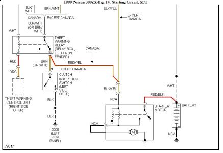1990 Nissan 300zx Wiring Diagram : 32 Wiring Diagram