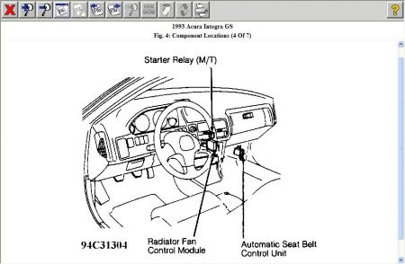 1991 Acura Integra Engine Diagram Likewise Legend 1991